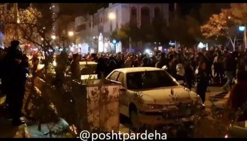 سبزوار  هشتم دیماه ۱۳۹۶ استفاده از اسپری فلفل بر چشمان بانوی دلاور ایران